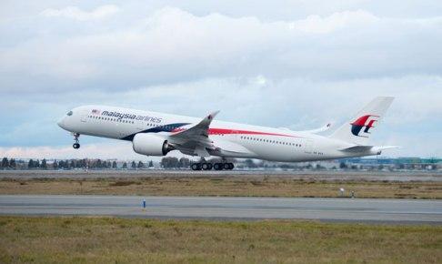 マレーシア航空 A350
