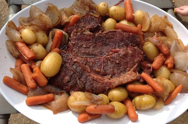 smoked pot roast