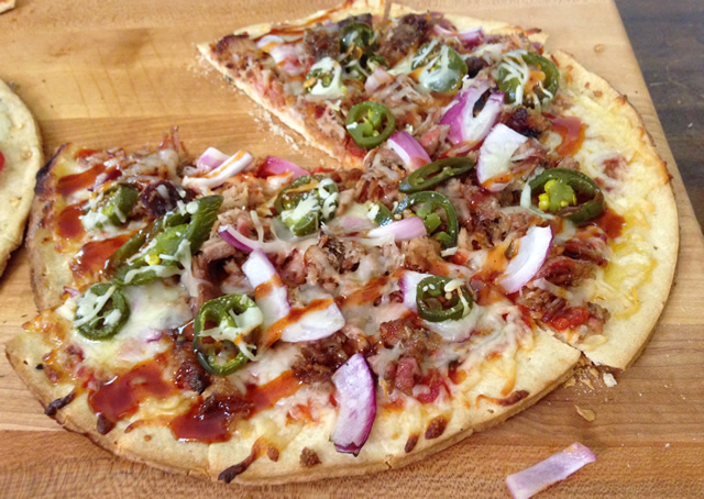 grilled bbq pizza recipe