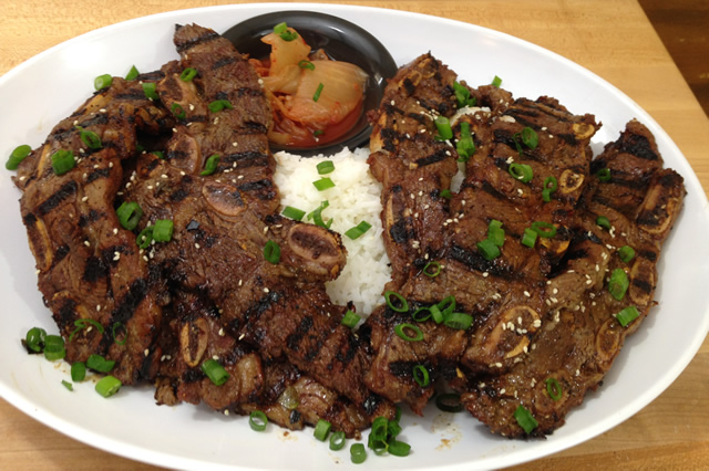 korean style beef short ribs