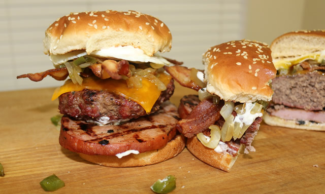 Denver Broncos Burger Recipe