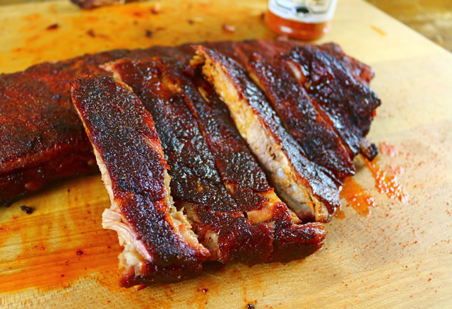 spicy smoked ribs