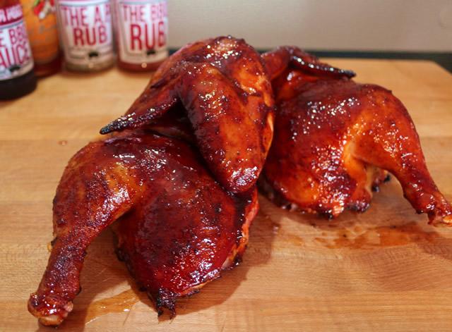 Smoked Half Chickens