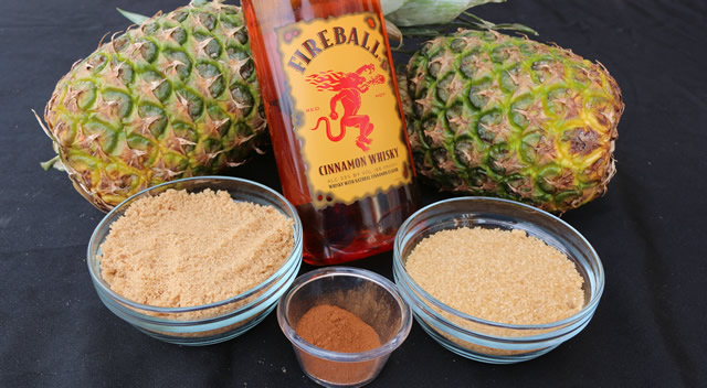 fireball pineapple