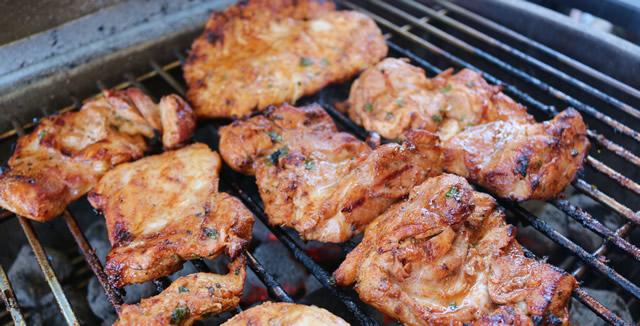 Grilled Chicken Fajitas