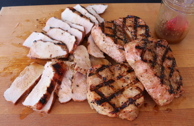 steakhouse pork chops