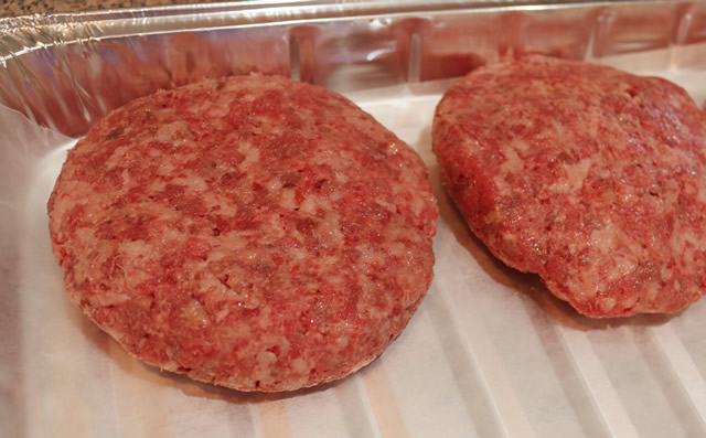 Smoked Hamburgers