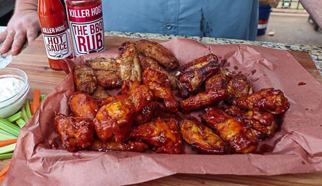 Crispy Grilled Wings