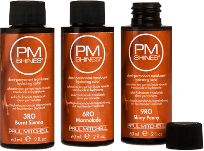 PM Shines Paul Mitchell Depositing Shampoo Fading Red Hair