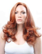 red hair color based age