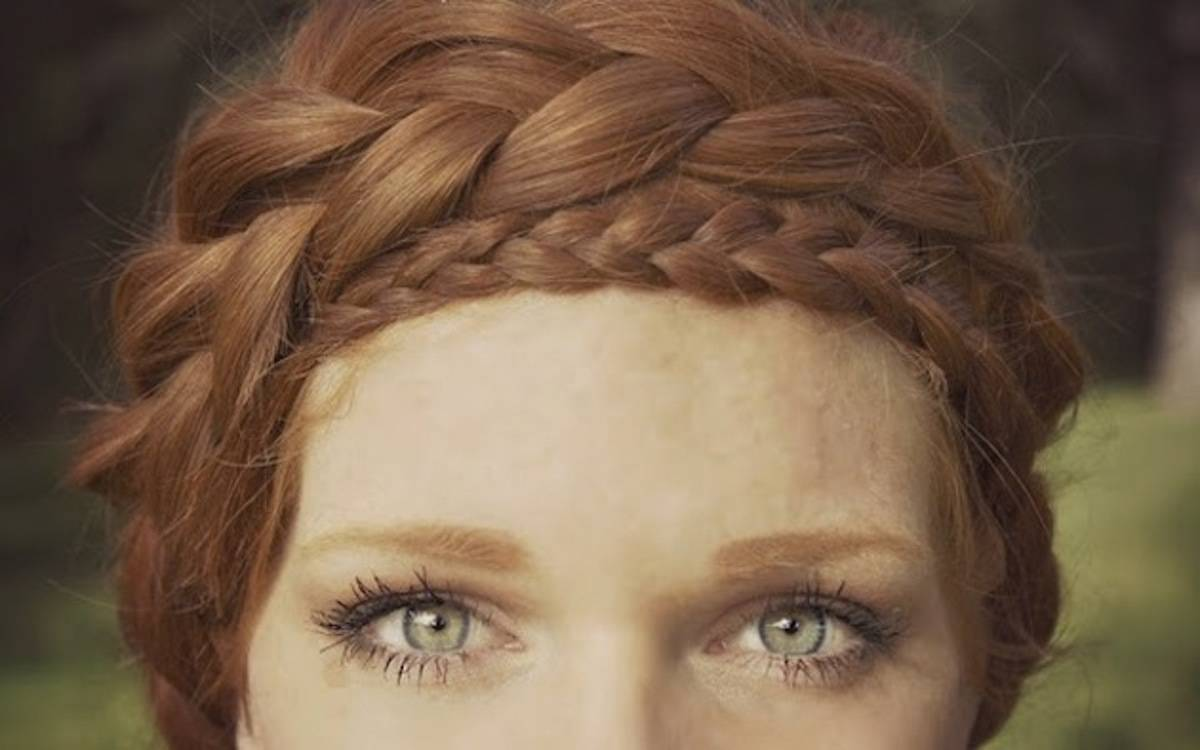 How to Halo Braid  How to be a Redhead