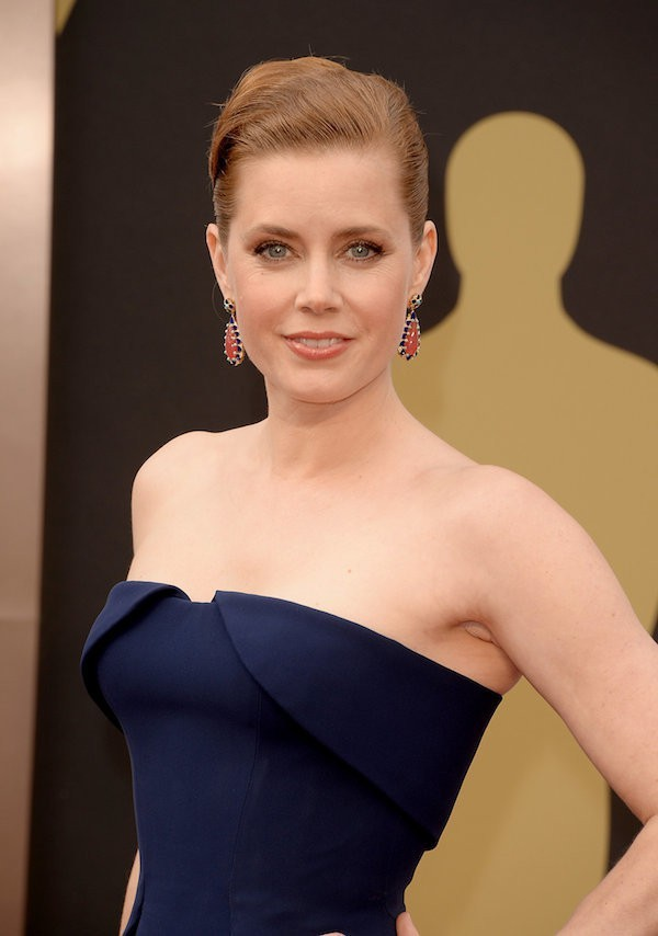 Amy Adams Chic French Twist from the Oscars  How to be a Redhead