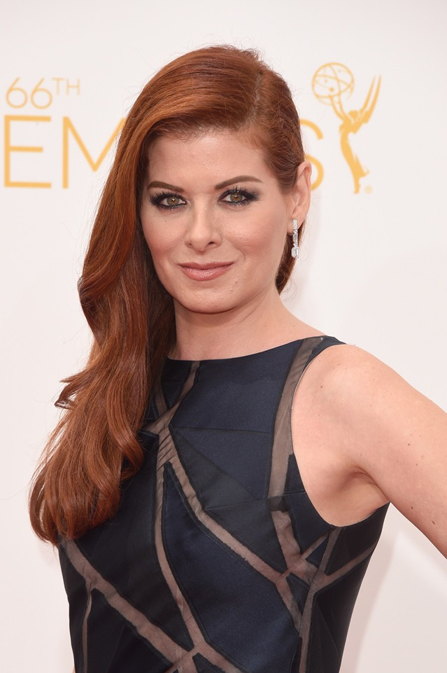 Get the Look Debra Messings 2014 Emmy Hair  How to be a