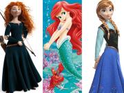 redhead disney princesses and heroines