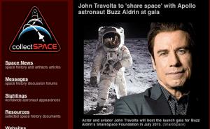 ShareSpace with John Travolta and Buzz Alrdin