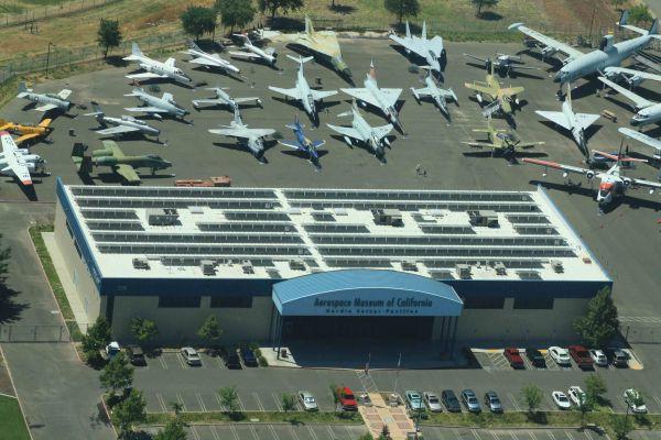 Aerospace Museum of CA aerial