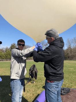 Teachers In Space Cubesat Balloon Launch