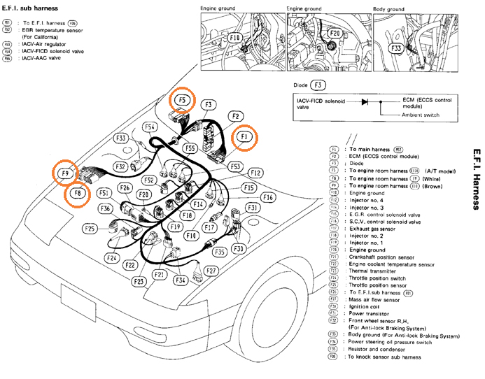 240sx Wiring Harness Diagram : 28 Wiring Diagram Images