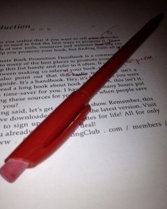 Why a Booked Blog Manuscript Needs Editing