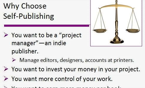4 Reasons to Choose to Self-Publish Your Book
