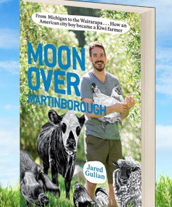Jared Gulian's Blog-to-Book Goes Over the Moon in Martinborough