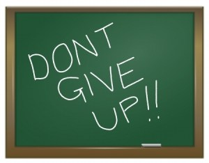 Don't give up on your blog