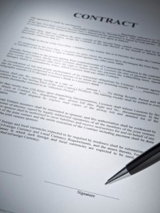 how to land a contract with an agent
