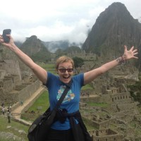 Denise Wakeman at Machu Picchu