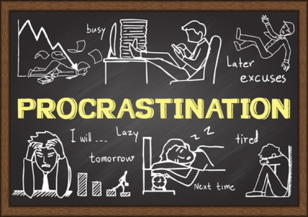 how to write rather than procrastinate