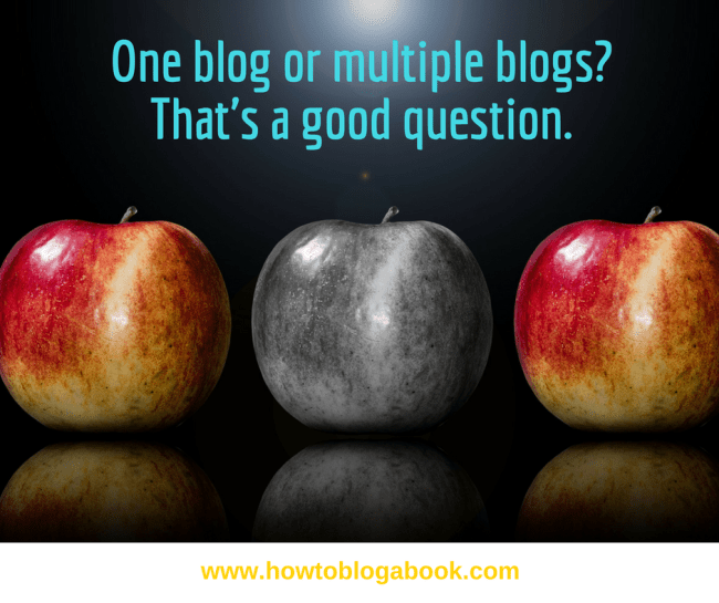why one blog is better than multiple blogs