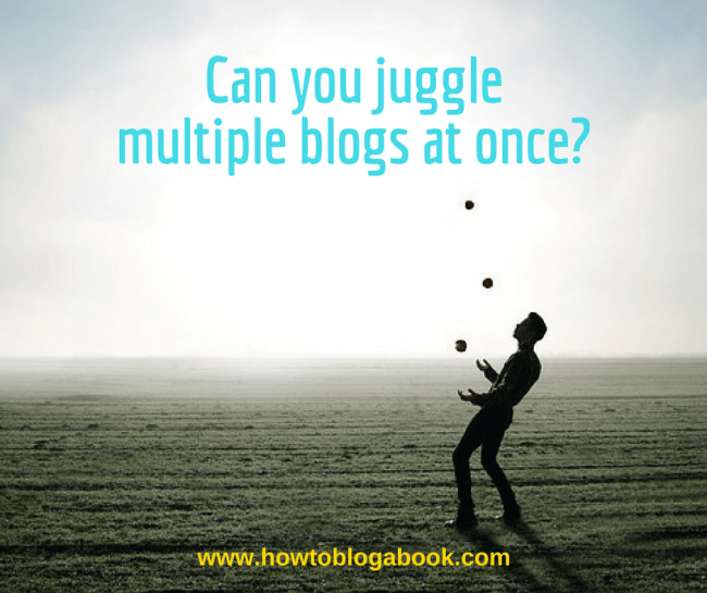 how to manage multiple blogs