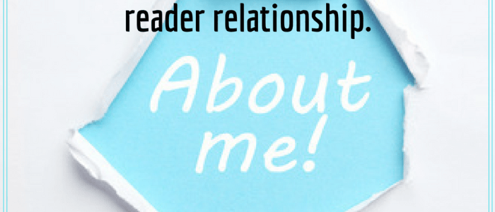 create a compelling about me page for your blog