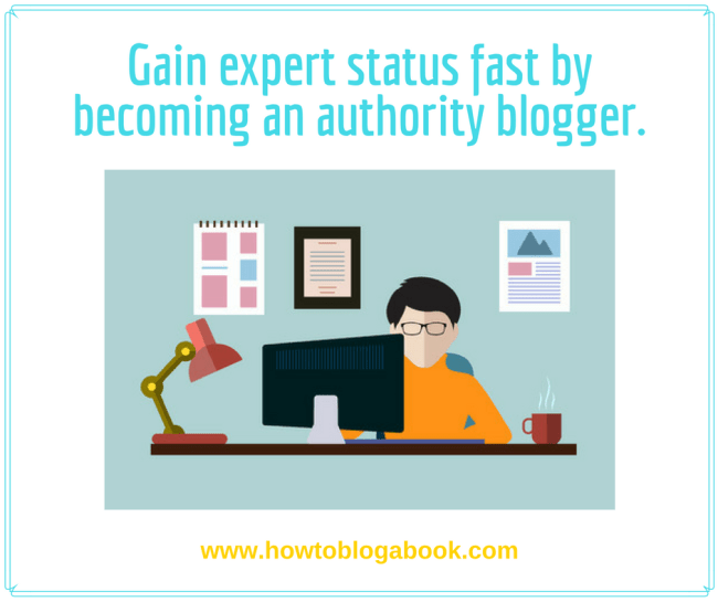 blog your way to expert status