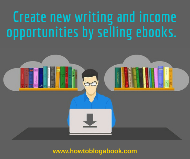 sell ebooks from a blog