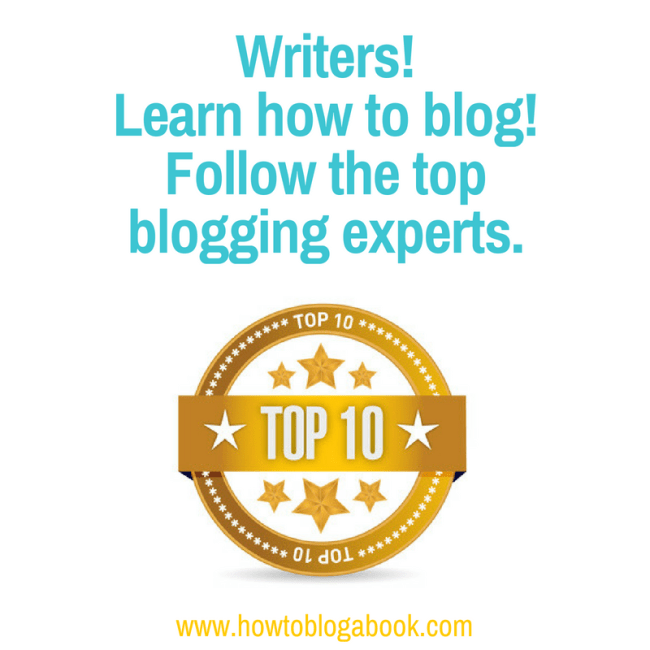 how to learn how to blog--for writers