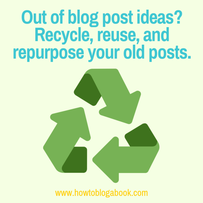 reuse blog posts