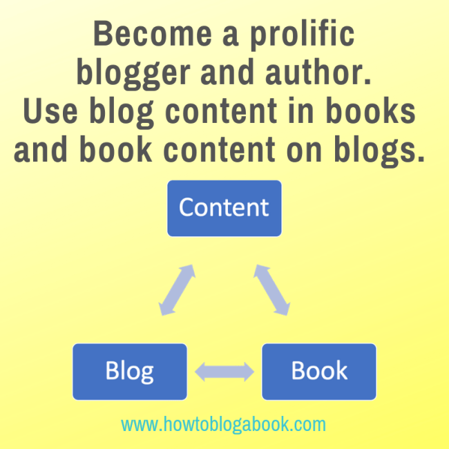 blog and book content