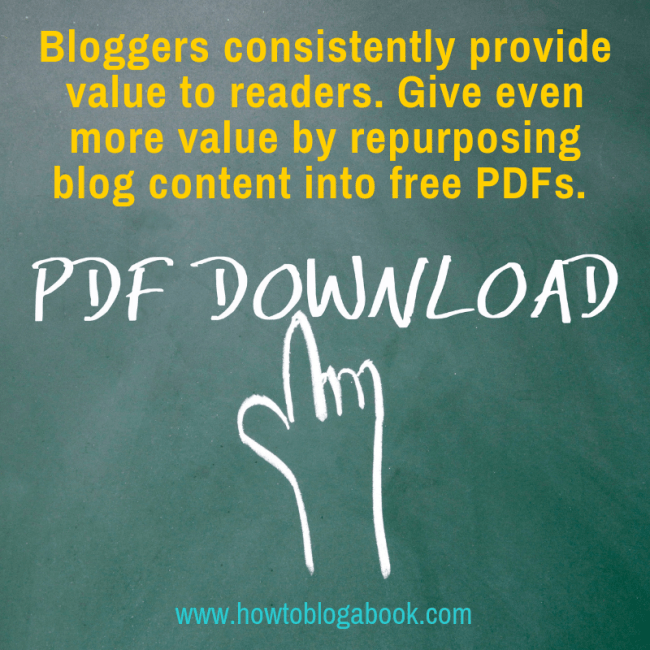 free pdf downloads created by bloggers