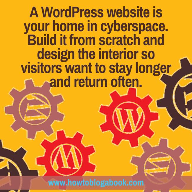 Create your WordPress website and blog