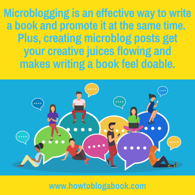 microblog your book as a strategy for blogging your book