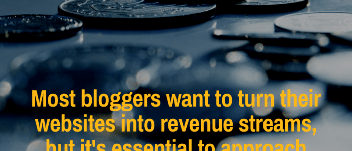 Monetize your blog with integrity