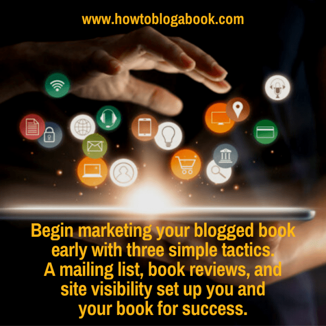 book marketing for bloggers