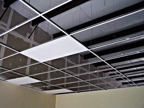 How To Install A Suspended Ceiling  How To Build A House