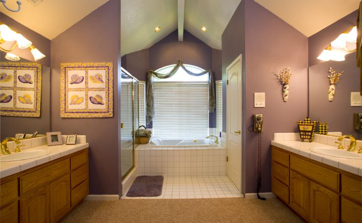 widescreen purple bathroom color ideas for decorations mobile phones hd neutral the right paint your how to build a house