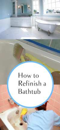 How to Refinish a Bathtub - How To Build It