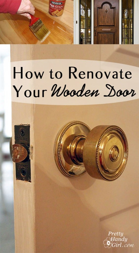 How to Renovate Your Wooden Door  How To Build It