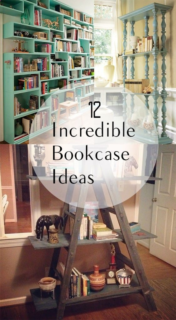 12 Incredible Bookcase Ideas How To Build It