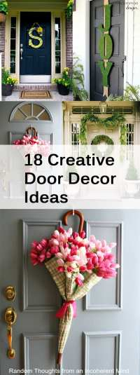 18 Creative Door Decor Ideas - How To Build It