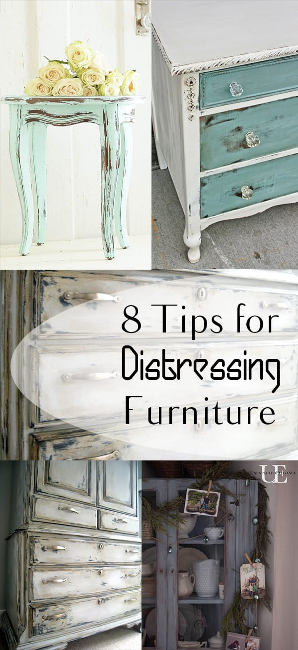 8 Tips For Distressing Furniture How To Build It
