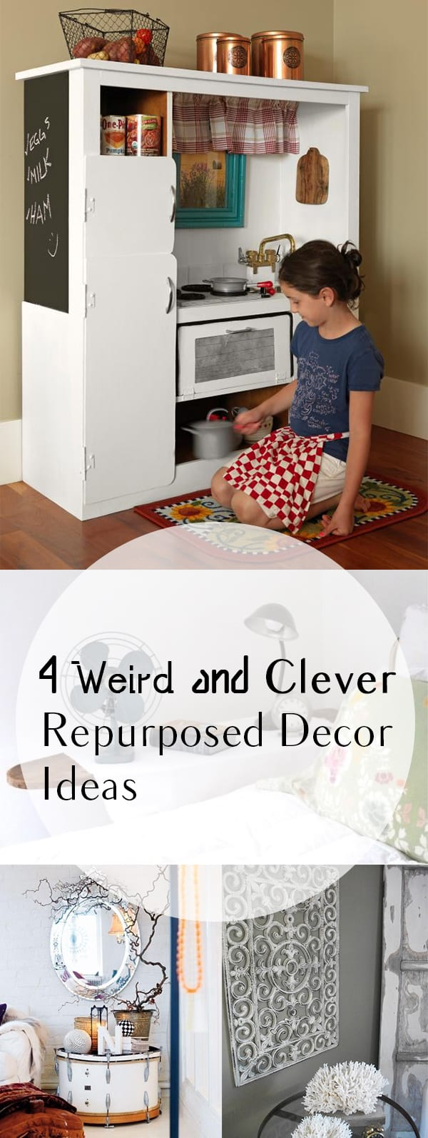 14 Weird and Clever Repurposed Decorating Ideas  Page 2